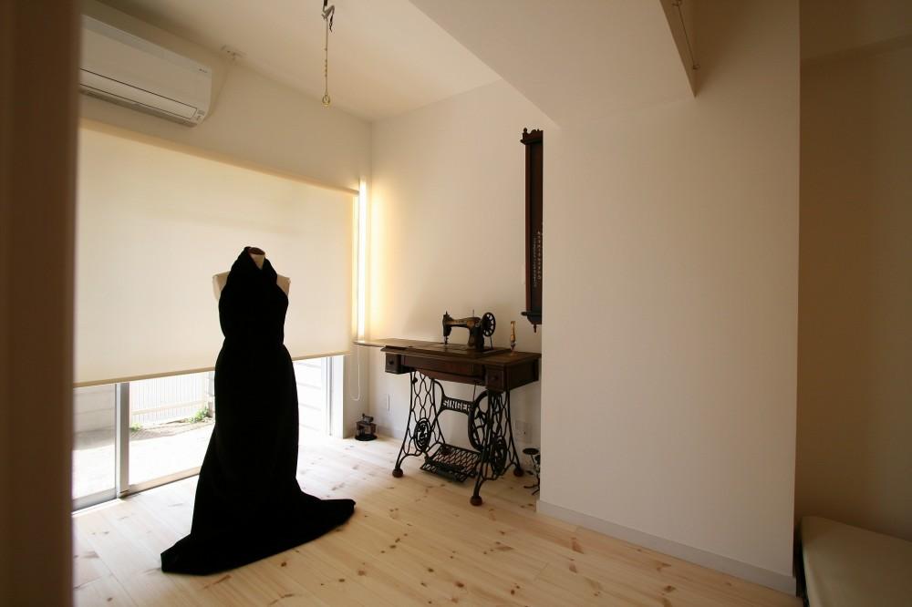 新居のためのリノベーション (作業室)