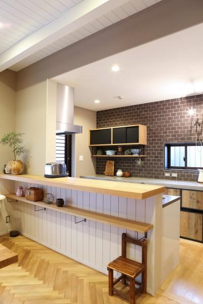 N house (キッチン)