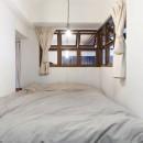 57平米に込めた夫妻の想いの写真 寝室