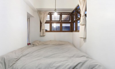 57平米に込めた夫妻の想い (寝室)