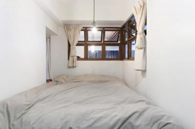 寝室 (57平米に込めた夫妻の想い)