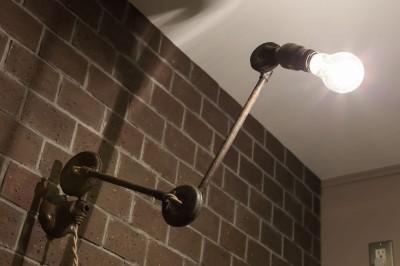 照明 キッチン (N house)