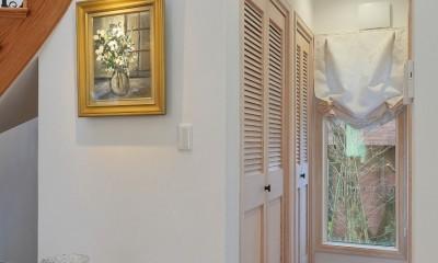 パリの家 Le Logement de Paris憧れの住まいを。 (LDKから洗面所、浴室へ)