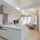パリの家 Le Logement de Paris憧れの住まいを。の写真 2階LDKにはドーマーから差し込む光が。