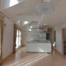 パリの家 Le Logement de Paris憧れの住まいを。の写真 2階LDK,ドーマーから差し込む光が明るい。