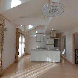 パリの家 Le Logement de Paris憧れの住まいを。 (2階LDK,ドーマーから差し込む光が明るい。)