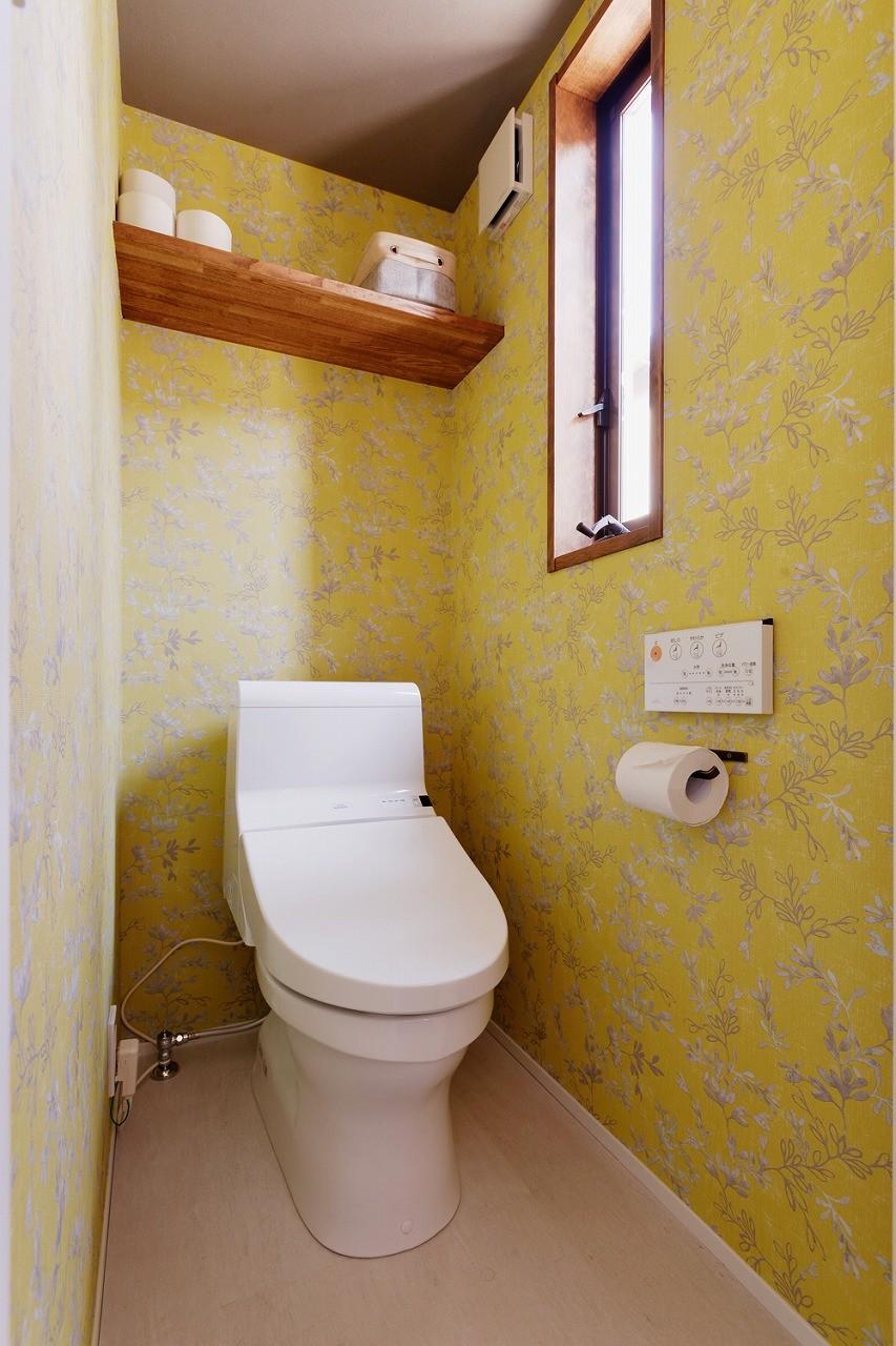 バス/トイレ事例:トイレ(笑顔あふれる家族が集う)