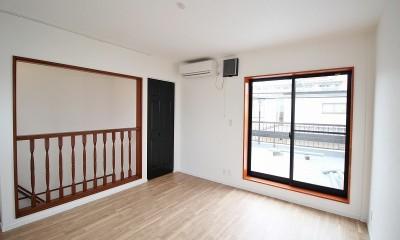 築44年の中古住宅 (戸建て) をフルリノベ (最上階のベランダのある部屋)