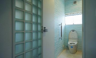 多様性リノベーション~個々の空間も確保しつつ、集う場を広く~ (トイレ)