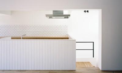 北綾瀬の家 (キッチン)