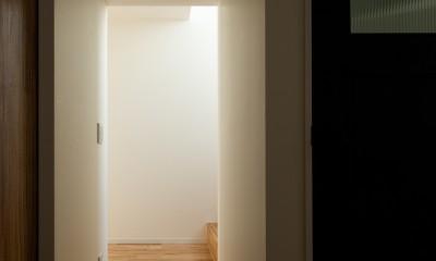 北綾瀬の家 (廊下)