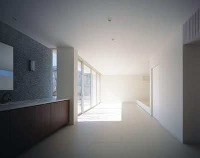 吉田町の家 (応接室)