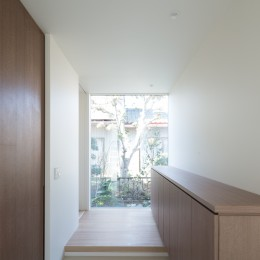 吉田町の家 (玄関ホール)