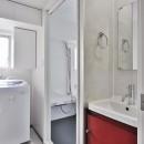 ホワイトスタジオの写真 1畳半の機能性洗面室