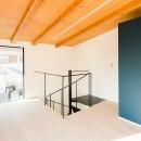 参道沿いの家~らせん階段でつなぐ2世帯住居~の写真 アトリエ