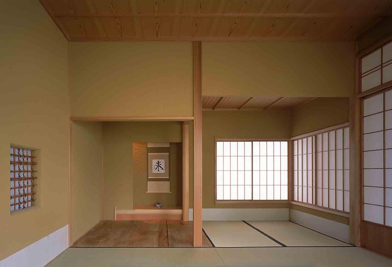その他事例:和室(蒲郡 海辺市街地の別荘)