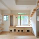 葉山JICCA プロジェクト 築43年の木造住宅をフルリノベーションの写真 猫ちゃんルーム
