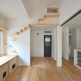 葉山JICCA プロジェクト 築43年の木造住宅をフルリノベーション (猫ちゃんルーム)