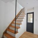 葉山JICCA プロジェクト 築43年の木造住宅をフルリノベーションの写真 階段