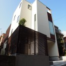 港区の家~ルーフテラスのある都心3階建~の写真 外観