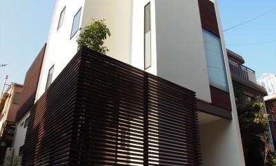 港区の家~ルーフテラスのある都心3階建~