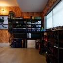 アウトドアを楽しむ家の写真 土間収納