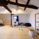 アウトドアを楽しむ家の写真 2階の子供部屋