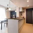 中古マンションリノベーション〜「自分らしい空間を実現したい」の写真 キッチン
