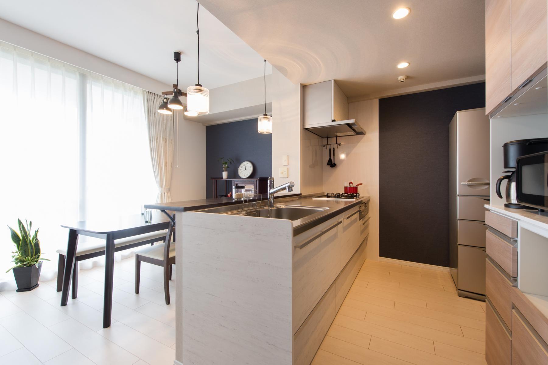 キッチン事例:キッチン(中古マンションリノベーション〜「自分らしい空間を実現したい」)