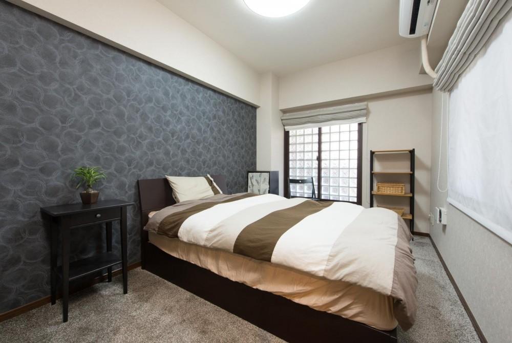中古マンションリノベーション〜「自分らしい空間を実現したい」 (寝室)
