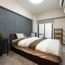 中古マンションリノベーション〜「自分らしい空間を実現したい」の写真 寝室