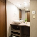 中古マンションリノベーション〜「自分らしい空間を実現したい」の写真 洗面脱衣室