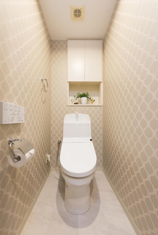 中古マンションリノベーション〜「自分らしい空間を実現したい」 (トイレ)