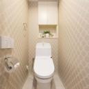 中古マンションリノベーション〜「自分らしい空間を実現したい」の写真 トイレ