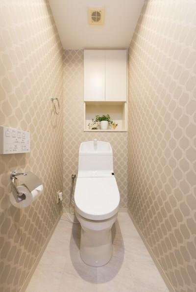トイレ (中古マンションリノベーション〜「自分らしい空間を実現したい」)
