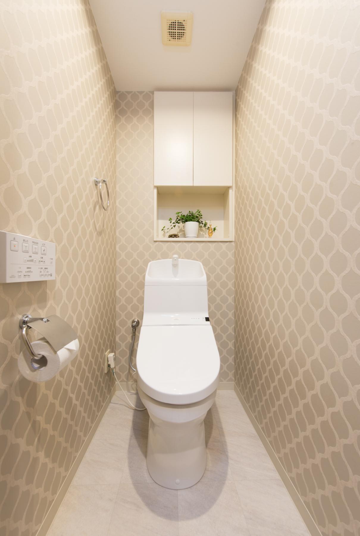バス/トイレ事例:トイレ(中古マンションリノベーション〜「自分らしい空間を実現したい」)