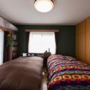お母様と同居&趣味も楽しめる!戸建て全面リフォームの写真 寝室