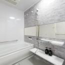 ご夫婦がゆったりくつろげる間取りに全面改装の写真 浴室