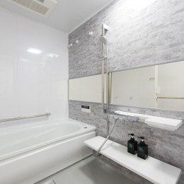ご夫婦がゆったりくつろげる間取りに全面改装 (浴室)