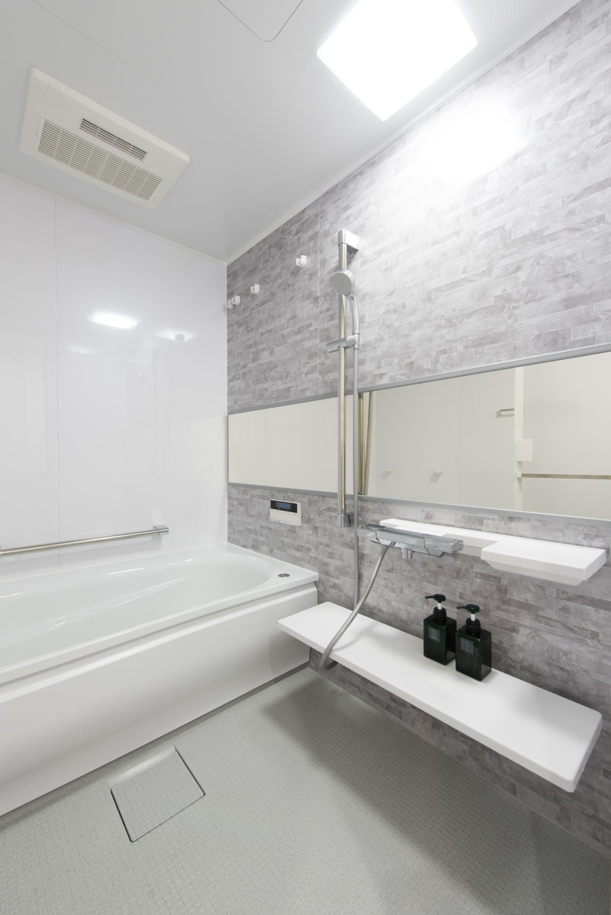 バス/トイレ事例:浴室(ご夫婦がゆったりくつろげる間取りに全面改装)