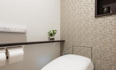 ご夫婦がゆったりくつろげる間取りに全面改装 (トイレ)