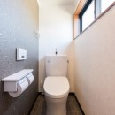 北欧風ナチュラルインテリアに!戸建て全面改装の写真 トイレ