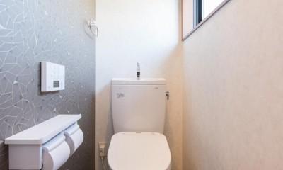 北欧風ナチュラルインテリアに!戸建て全面改装 (トイレ)