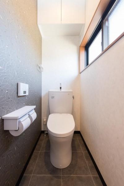 トイレ (北欧風ナチュラルインテリアに!戸建て全面改装)