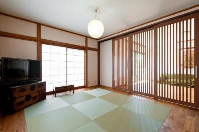 和室 (中古戸建て〜和を活かして、落ち着いた雰囲気にリフォーム)