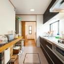 中古戸建て〜和を活かして、落ち着いた雰囲気にリフォームの写真 キッチン