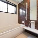 中古戸建て〜和を活かして、落ち着いた雰囲気にリフォームの写真 浴室