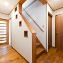 中古戸建て〜和を活かして、落ち着いた雰囲気にリフォームの写真 階段