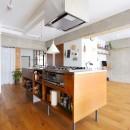 模様替えを楽しめる、土間のある家の写真 キッチン