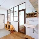 模様替えを楽しめる、土間のある家の写真 寝室